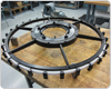 Structural Steel Fabrication of Stator Support Assembly Ring